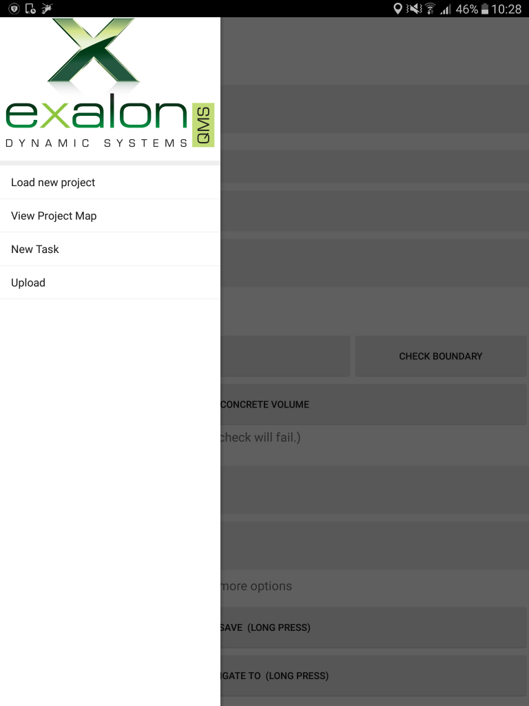 Exalon QMS - Inspections application - slider